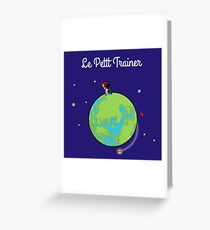Le Petit Trainer Greeting Card