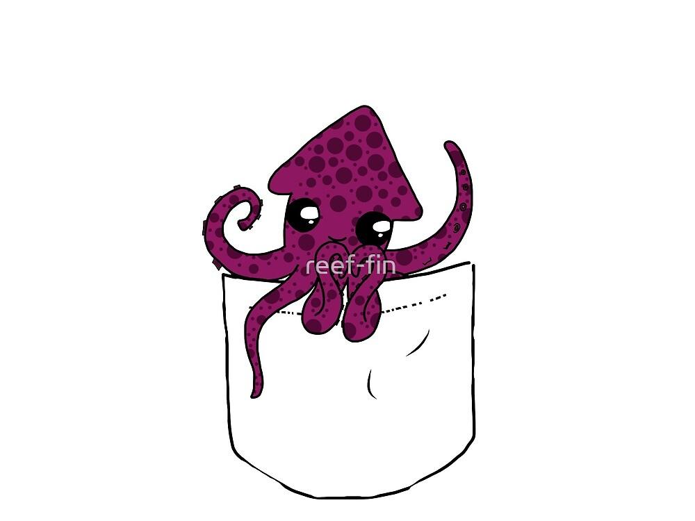 Pocket friends octopus by reef-fin