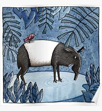 Welcome To The Jungle - Tapir - Schabrackentapir Poster