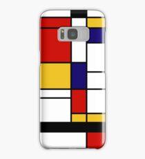 Mondrian Samsung Galaxy Case/Skin