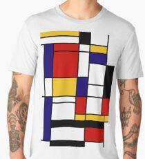 Mondrian Men's Premium T-Shirt