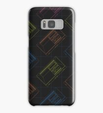 Master System Outline (Black) Samsung Galaxy Case/Skin