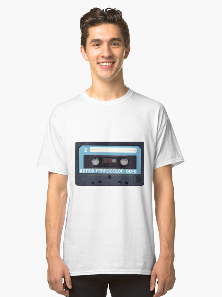 Cassette Tape 60 Classic T-Shirt Front