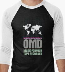 Music for your Tape Recorder OMD Men's Baseball ¾ T-Shirt
