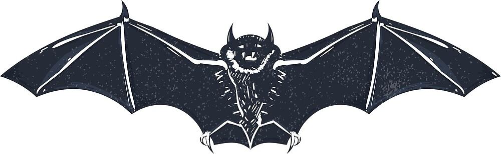 Bat Halloween by Vladimir Fedotov