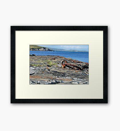 stevenson's pier Framed Print