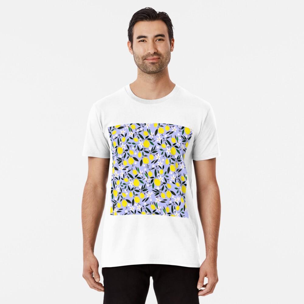 Lemons Blue Premium T-Shirt