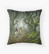 The Old Forest Floor Pillow