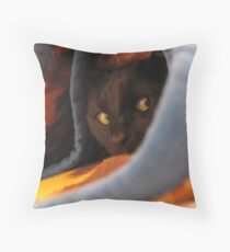 I'm so chilly! Throw Pillow