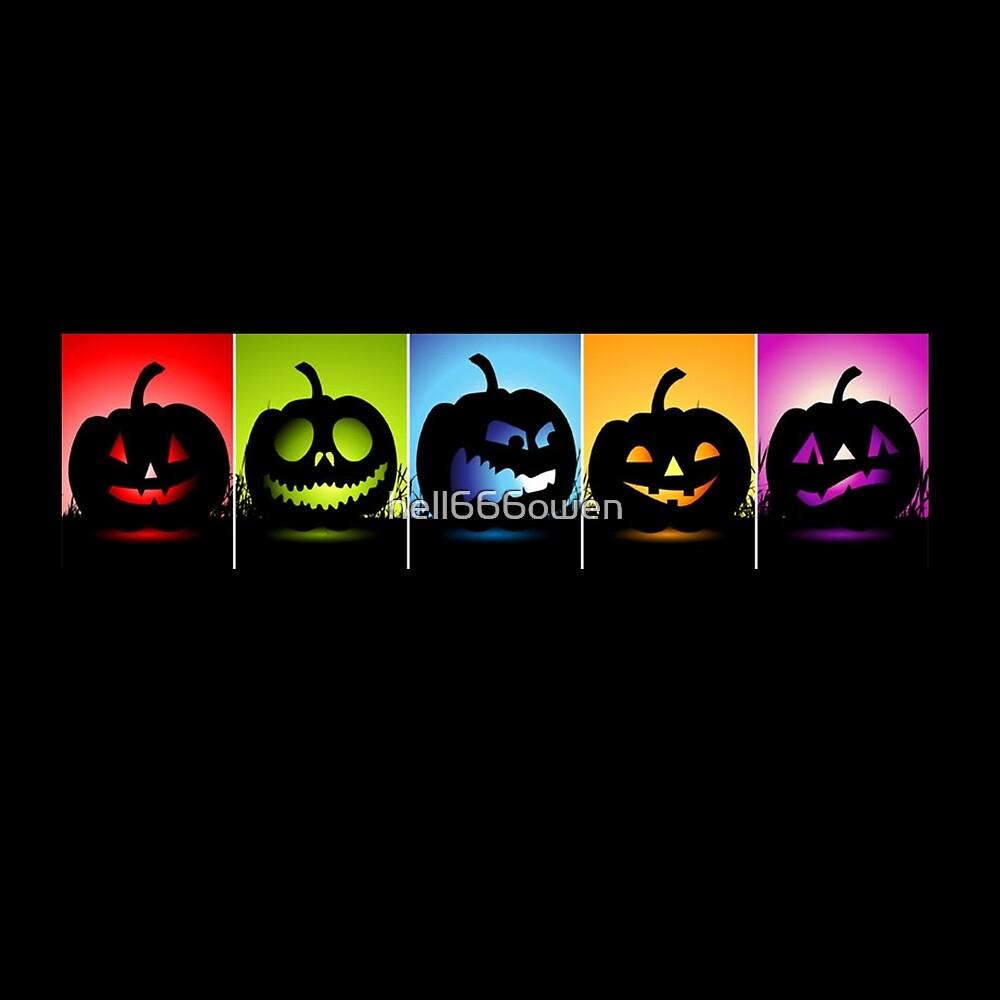 face halloween by hell666owen
