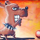 Grrr Dog's Ball by etourist