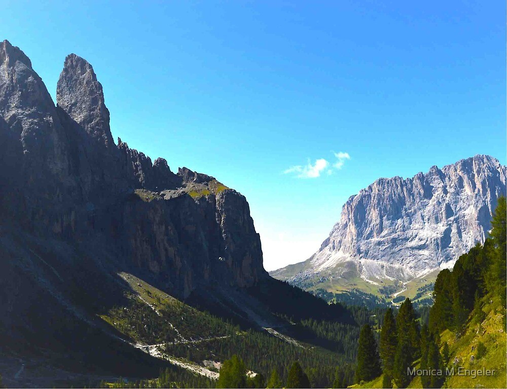 Dolomite's Italy by Monica Engeler