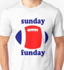 Super Bowl Sunday Funday - New England Unisex T-Shirt