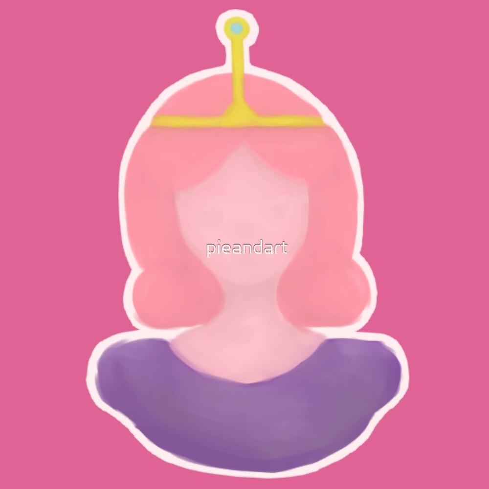 Pink Chewy Princess by pieandart