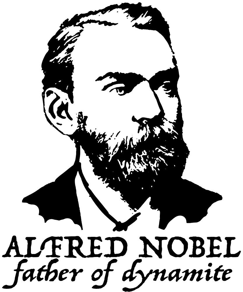 Alfred Nobel father of dynamite by MichaelRellov