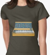 Synthesizer  Women's Fitted T-Shirt