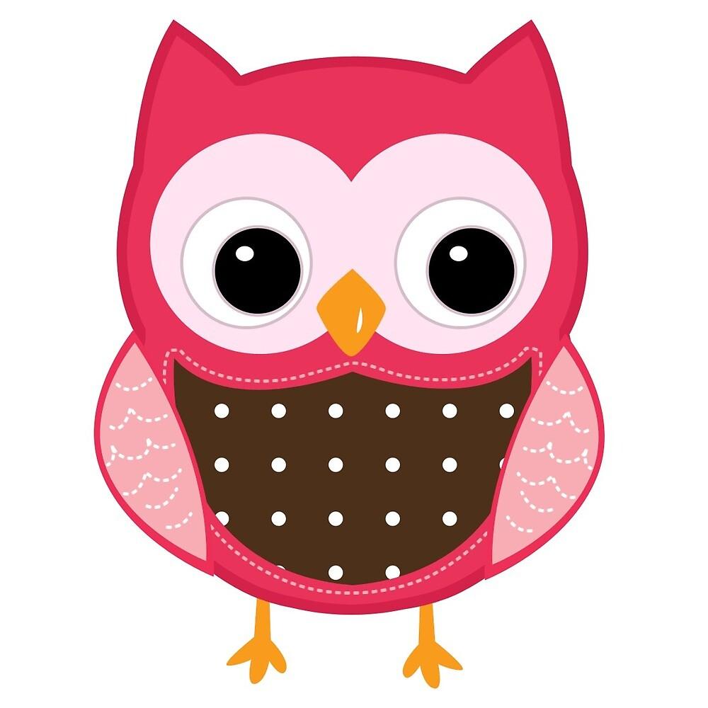 Simple Owl Print by doisetepromo
