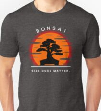 Bonsai Sunset Unisex T-Shirt