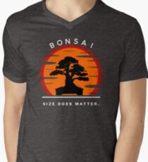 Bonsai Sunset Men's V-Neck T-Shirt