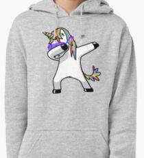 Dabbing Unicorn Shirt Dab Hip Hop Funny Magic Pullover Hoodie