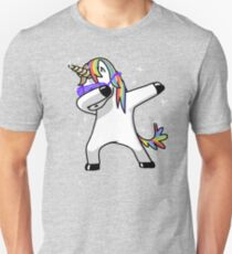 Camiseta unisex Dabbing Unicorn Shirt Dab Hip Hop Funny Magic