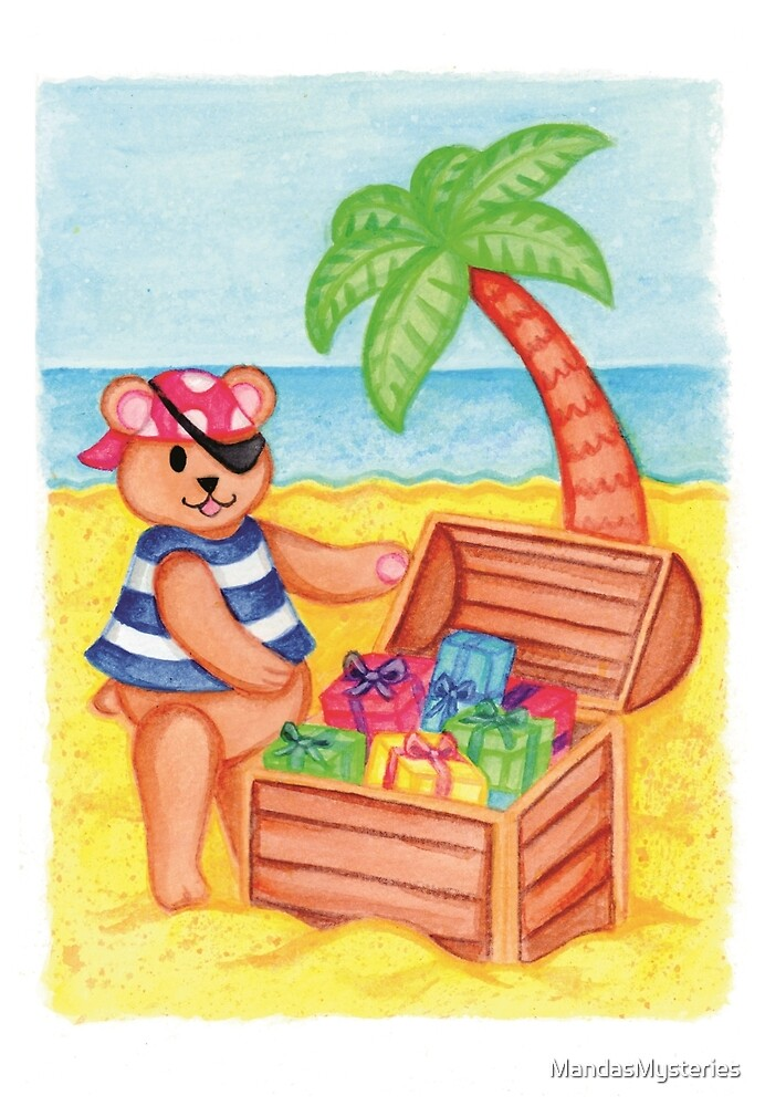 Teddy Treasure Island by MandasMysteries