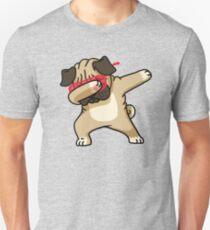 Mops-lustiges Hemd abtupfen Hip Hop Dabbin Unisex T-Shirt