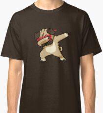 Dabbing Pug funny hip hop tshirt Classic T-Shirt