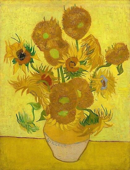 Van Gogh Yellow Sunflowers by fineearth
