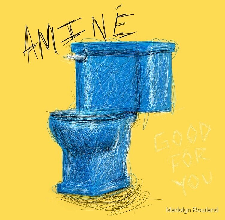 Aminé Toilet by Madolyn Rowland