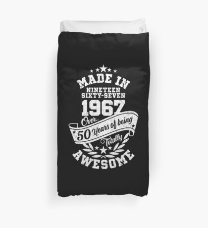 Made in 1967 - über 50 Jahre absolut fantastisch Bettbezug