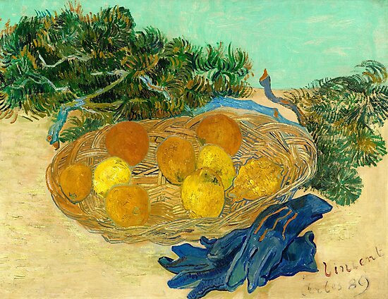 Vincent van Gogh Still Life of Oranges and Lemons by fineearth