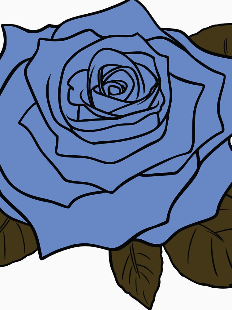 Giant Blue Rose by GwoodDesign