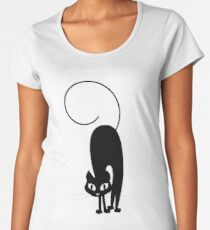 Black Cat Women's Premium T-Shirt