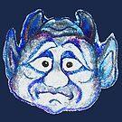 Devillishly Blue by sharpie