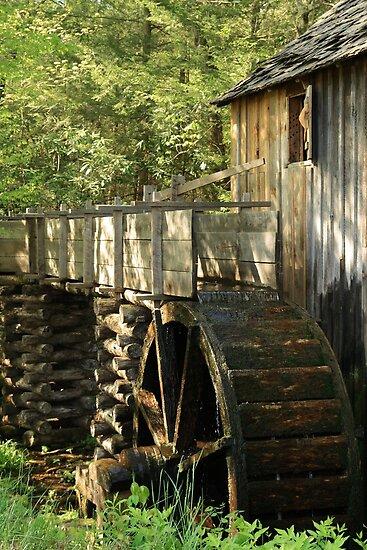 Mill Wheel by Gary L   Suddath