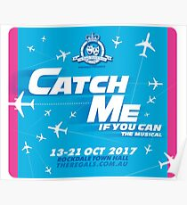 Catch Me If You Can Musical Posters Redbubble