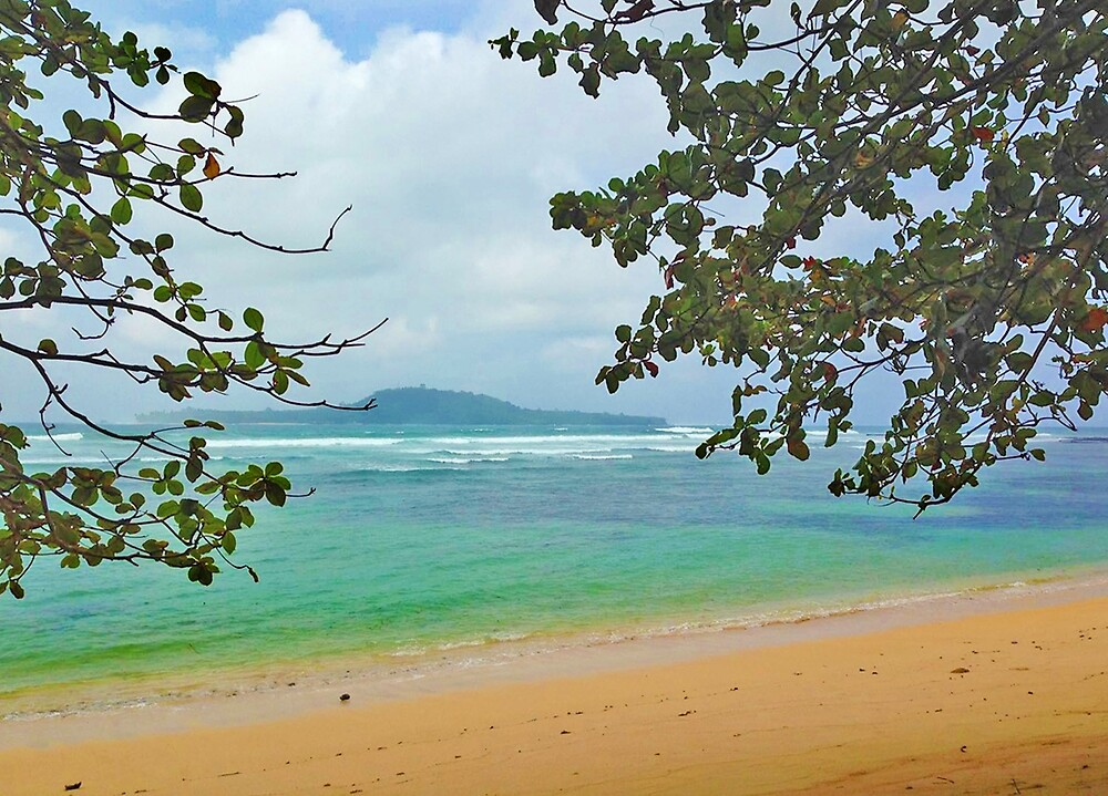 Inhame beach. São Tomé e Príncipe Islands by Dadinha