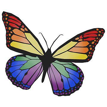 pride butterfly, by varnel