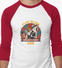 Plus Ultra Gym Baseballshirt mit 3/4-Arm
