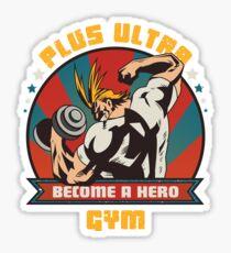 Plus Ultra Gym Sticker