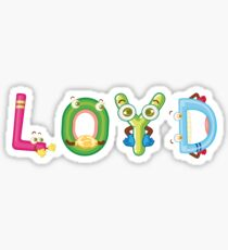 Loyd Sticker