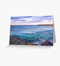 Bar Beach NSW Australia Greeting Card