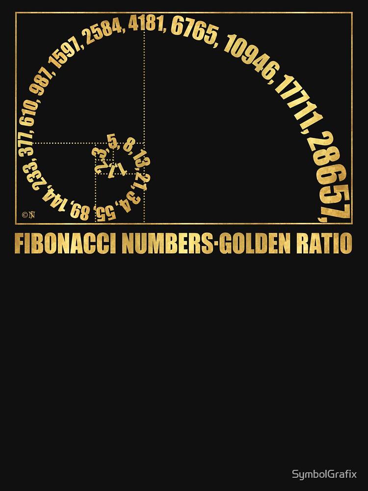 Fibonacci Numbers,  Golden Ratio by SymbolGrafix
