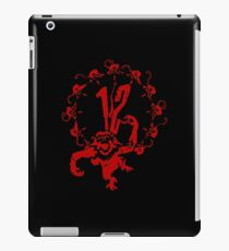 12 Monkeys - Terry Gilliam - Red on Black iPad Case/Skin