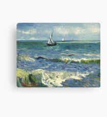 Vincent Van Gogh Seascape Painting Canvas Print