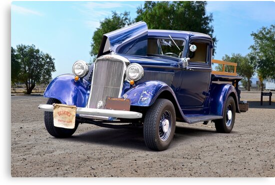 1935 Dodge Ram Pickup Truck I by DaveKoontz