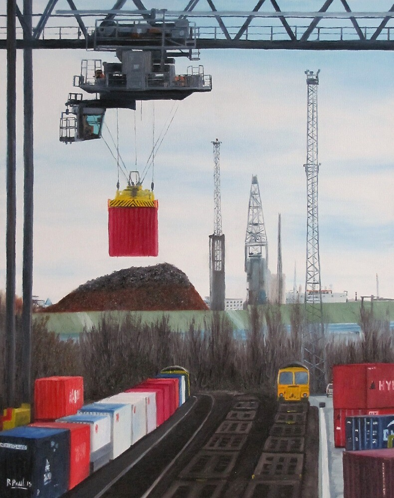 Southampton Docks 1 by Richard Paul