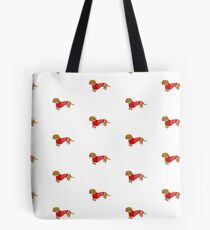 Dashing Daschund Tote Bag