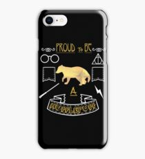Proud to be a Hufflepuff iPhone Case/Skin